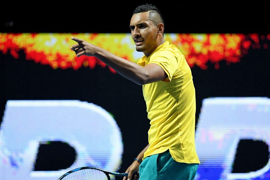 Nick Kyrgios has vowed to fight through a knee injury at next week's Australian Open. The world No. 14 is the host nation's best bet to break its 41-year men's title drought in Melbourne.