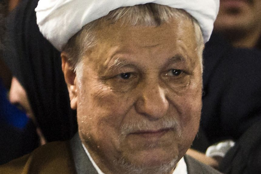 Mr Rafsanjani, a former Iranian president known for his moderate views and pragmatism, died on Sunday.