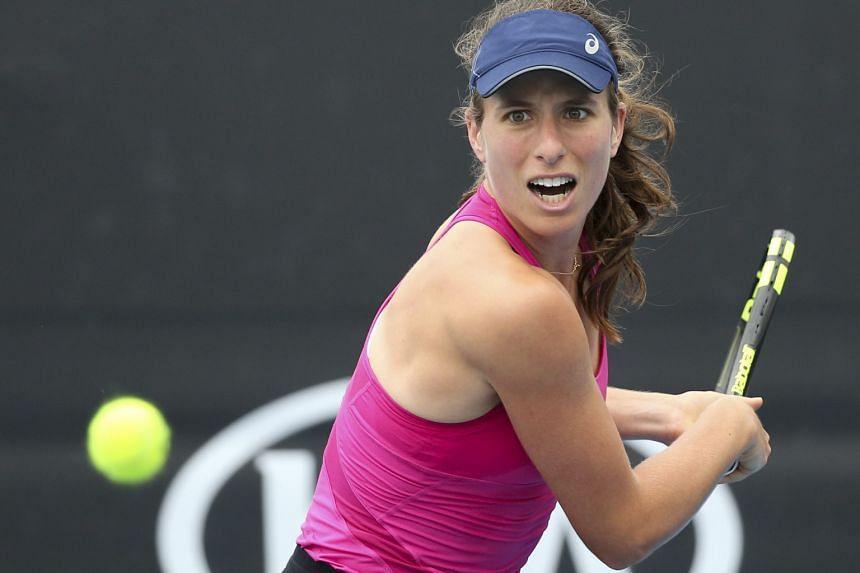 Johanna Konta, a title contender at the Australian Open, is enjoying a career high ranking of No. 9.