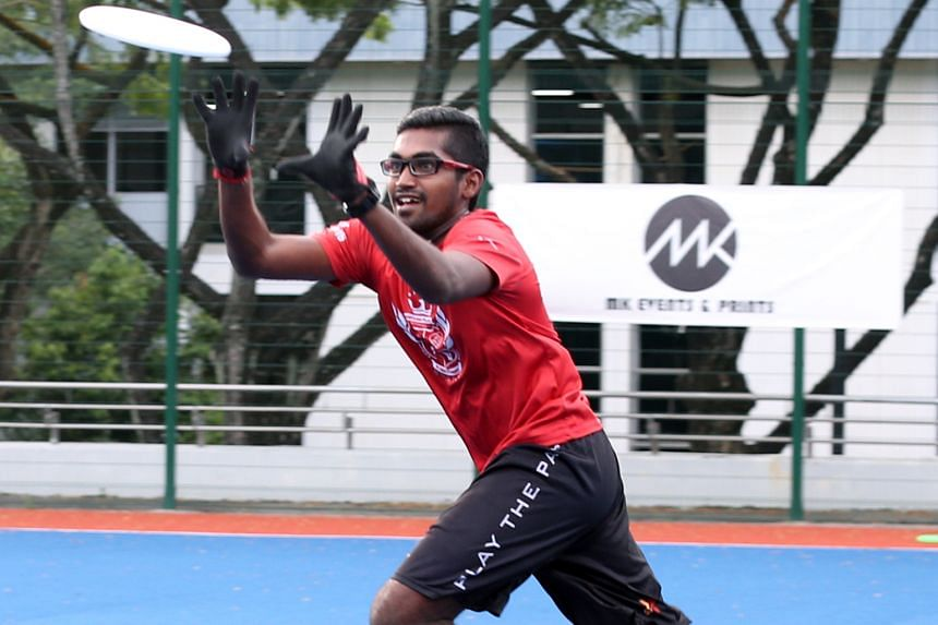 Mr Krishnan says ultimate frisbee requires agility, footwork, physical and mental skills, and adaptability.