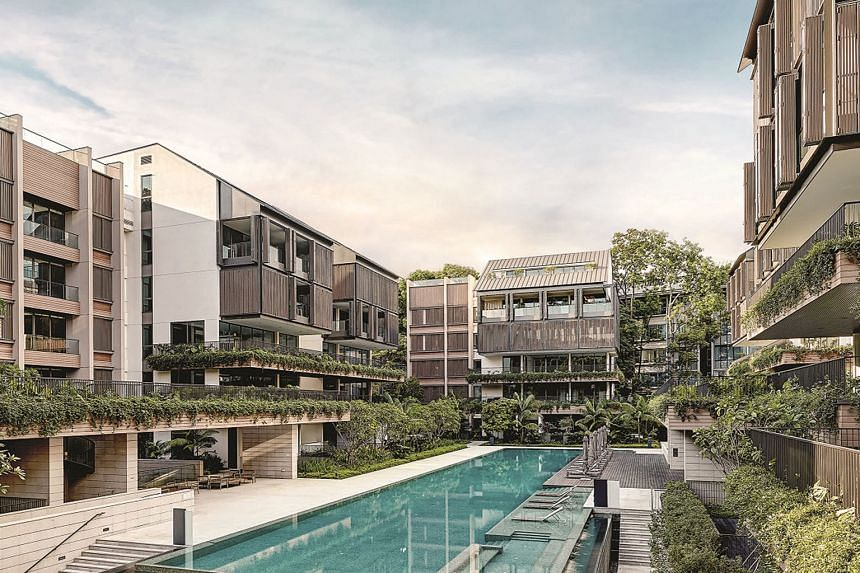 Veteran banker Wee Cho Yaw has bought up all 45 unsold units at The Nassim (left) for $411.6 million, through his family's private real estate arm, Kheng Leong. The deal is the latest in a series of recent bulk sales of residential units which develo