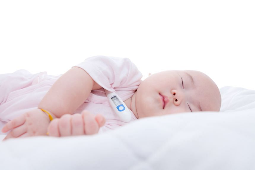 Your baby has a fever if his or her underarm temperature is above 37.3 deg C.