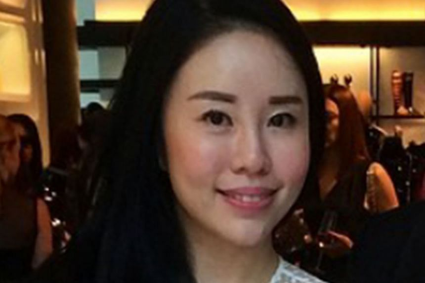 """Above: Ms Chua, seen here in a photo from last year, says she withdrew the application against Ms Tang (right) of her own accord and that she just hoped """"to move on"""" after the incident."""