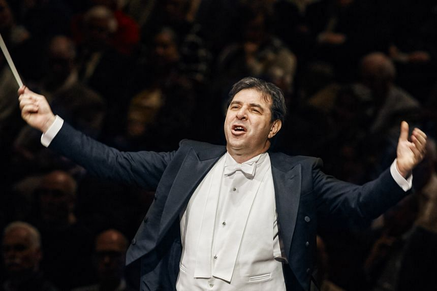 Chief conductor Daniele Gatti (above) is taking the Royal Concertgebouw Orchestra Amsterdam on a 21/2 season goodwill tour of the European Union.