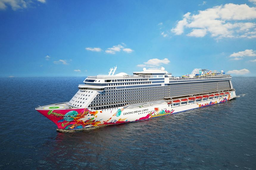 Genting Dream, the first ship launched by Dream Cruises. Mainboard-listed Genting Hong Kong said the launch of its Dream and Crystal brands and products was a factor behind its expected consolidated net loss.