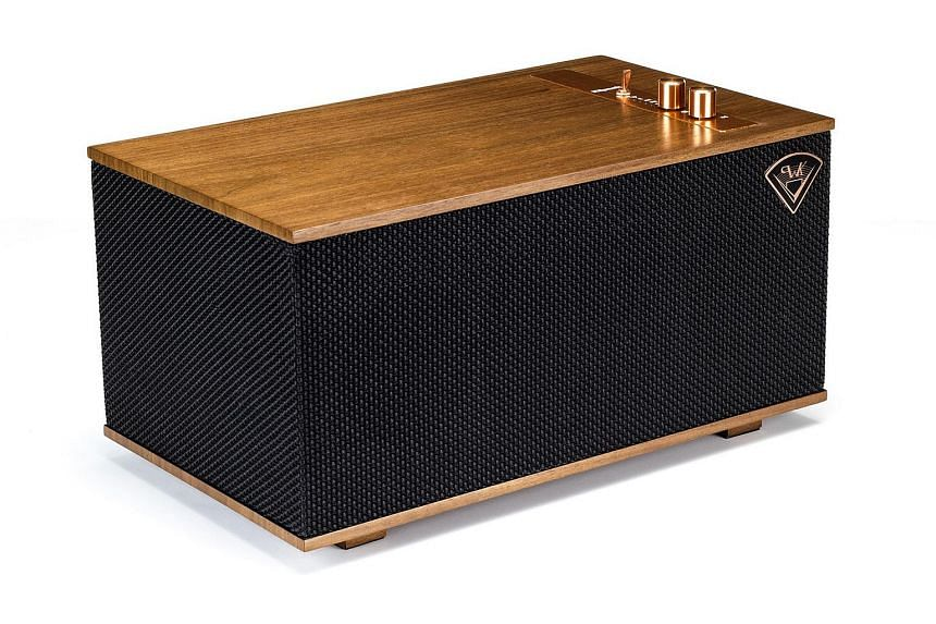 Music quality is powerful and top-notch. The Three's wooden enclosure brings a warm, resonant body to music tracks, breathing life into tracks.