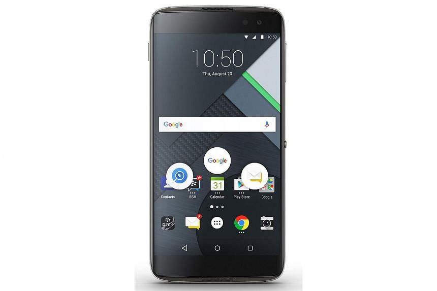 What makes the DTEK60 a BlackBerry phone is the host of preloaded security and productivity software.