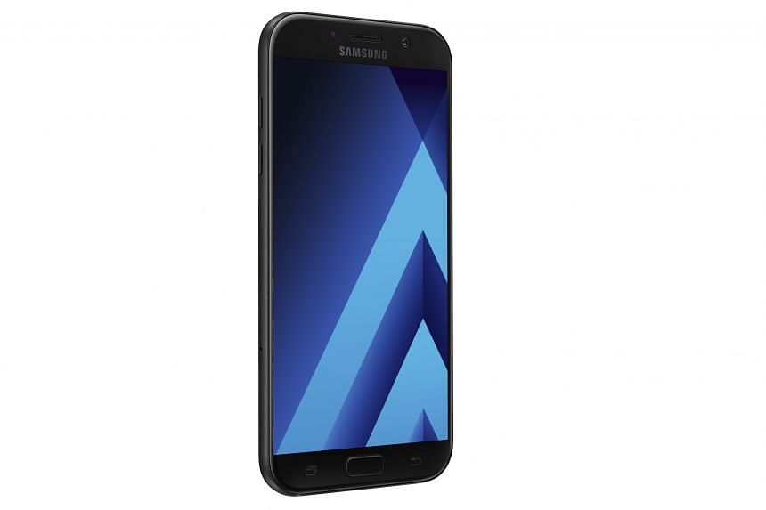 The Samsung Galaxy A7 is waterproof and has some useful features such as the Always-On Display and Secure Folder.