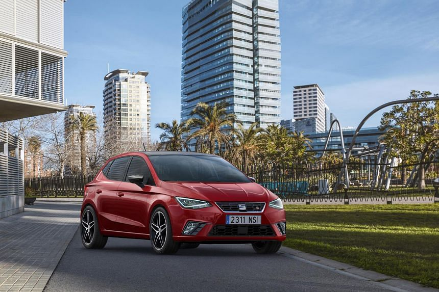 The fifth- generation Ibiza is roomier and has an edgier, sportier design.