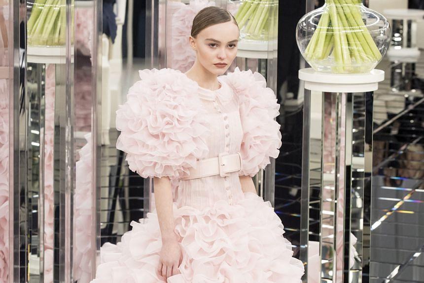 (Clockwise from far left): Lily-Rose Depp on the runway for Chanel at Paris Fashion Week; Frances Bean Cobain starring in a Marc Jacobs campaign; Lennon Gallagher appearing for Topman during London Fashion Week Men's; and Iris Law modelling for Burbe