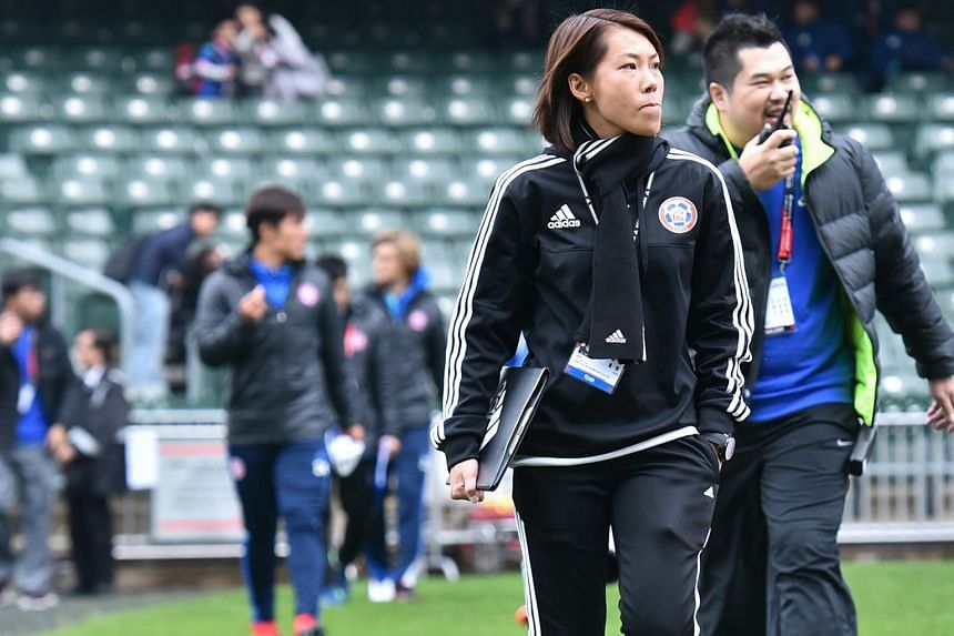 Coach Chan Yuen Ting is the first woman in the world to lead a football club to a top-tier league championship. Eastern ended their 21-year wait for the league title last April.