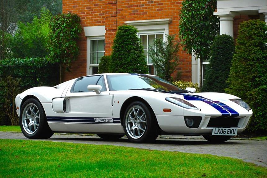 A 2005 Ford GT