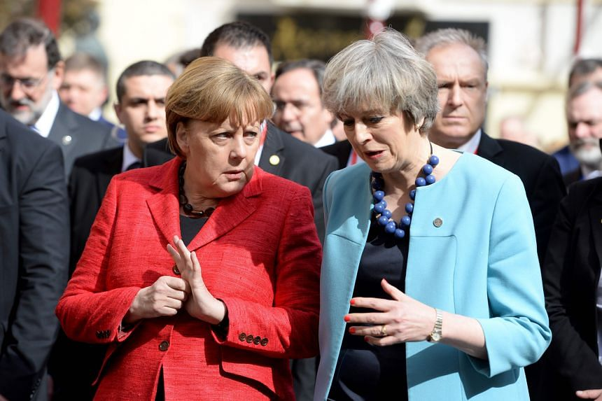 Dr Merkel and Mrs May at the EU summit in Malta earlier this month. They abruptly cancelled a planned bilateral meeting after a brief exchange during a sightseeing trip was deemed enough. And when it came to discussing the threats facing Europe, the