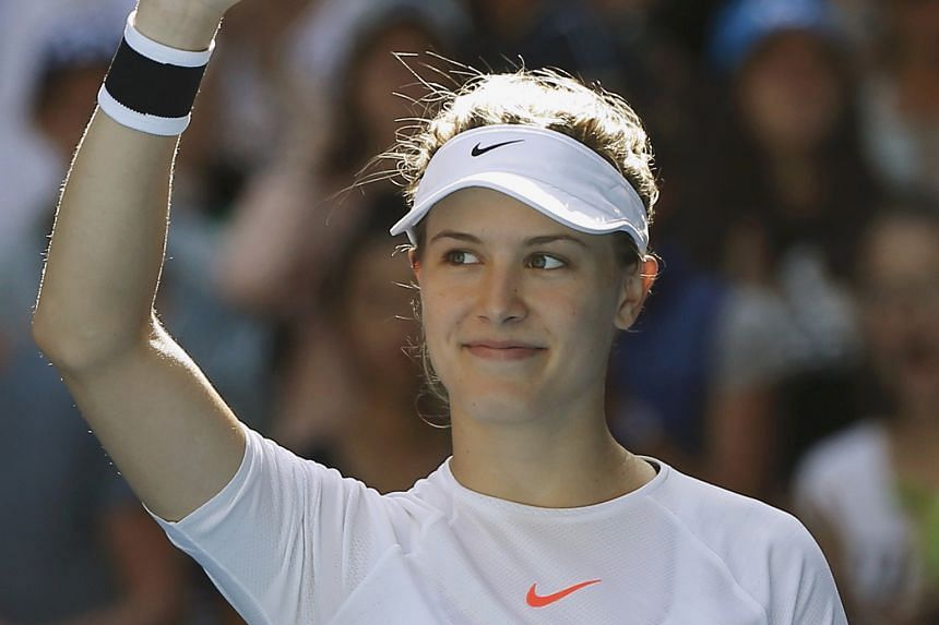 """""""@geniebouchard if patriots win we go on a date?"""" - JOHN GOEHRKE, a 20-year-old University of Missouri marketing student, trying his luck and scoring with Canadian tennis player Eugenie Bouchard in the second quarter of Sunday night's Super Bowl. She"""