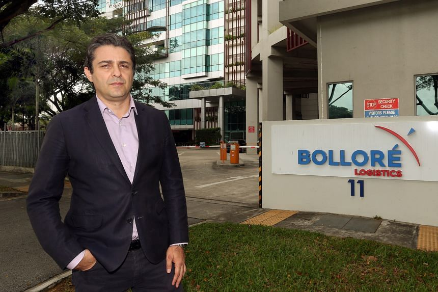 Bollore Logistics Singapore managing director Fabien Giordano, whose company will tap advanced technology and robotics to improve and mechanise various processes, such as storage and labelling, at its warehouse in Pioneer Turn. He says there is a nee