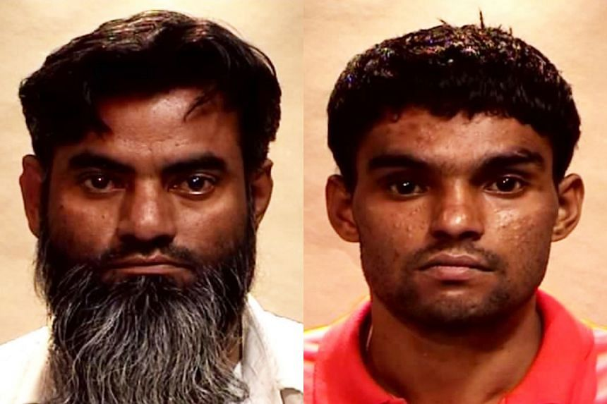 Ramzan Rizwan claimed the victim was alive when he ran out of the room. Rasheed Muhammad asserted he was forced to help kill the victim.