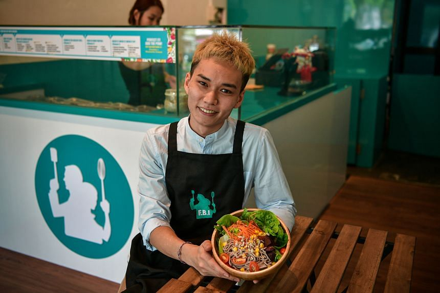 Mr Guo and his girlfriend, Ms Ong, would like a chance to look at how the best salad brands do things, or try new machines without having to pay thousands of dollars.