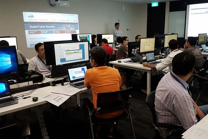 The Singtel Cyber Security Institute trains technical professionals and management personnel to better handle cyber breaches.