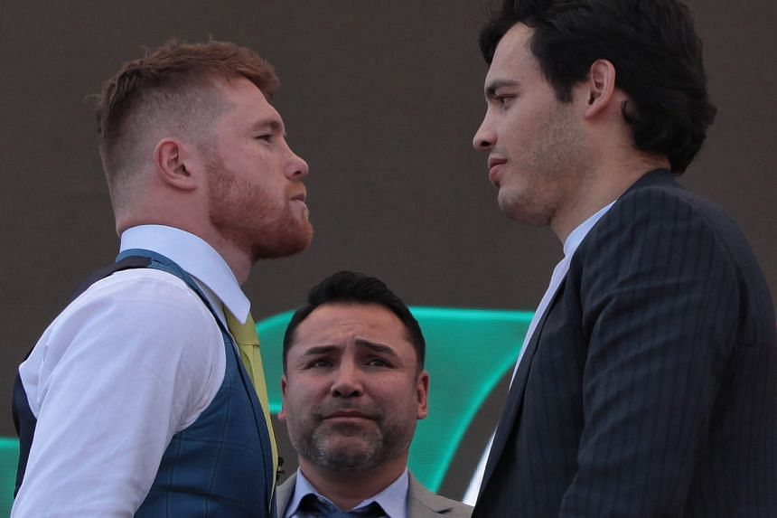 Fireworks are expected on May 6, with the red-haired Canelo Alvarez taking the bout personally, as he feels the much taller Julio Cesar Chavez Jr has often belittled him.