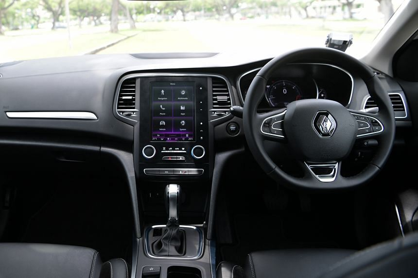 The centrepiece of the cabin, which has a premium feel, is a tablet-style infotainment console. The Renault Megane is regal and stylish, with a new corporate face and C-shaped headlights with daytime-running LEDs.