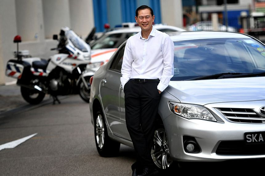 Commander of Traffic Police Sam Tee says his Toyota Corolla Altis gives a comfortable ride and has good noise-proofing.
