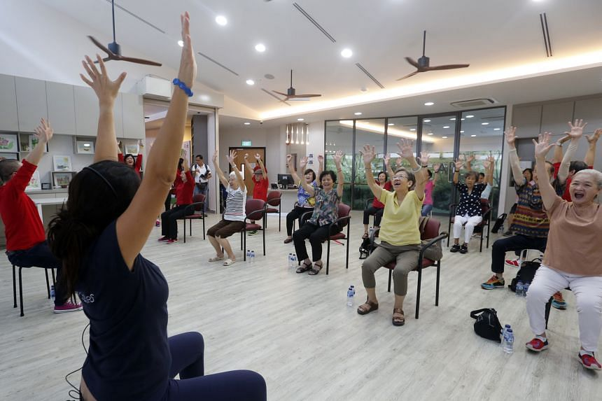 A key addition to the upgraded Whampoa CC is the Community for Successful Ageing Centre.
