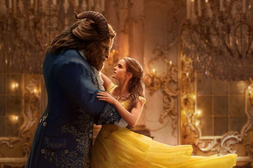 Emma Watson plays Belle and Dan Stevens is the Beast in Beauty And The Beast.
