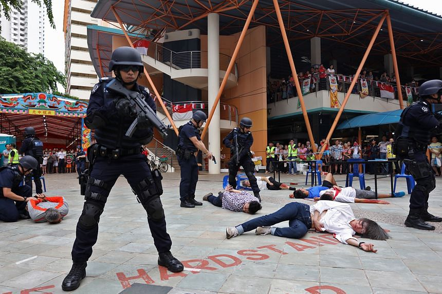 Since its launch last year, the SGSecure movement has hit the heartland, where outreach efforts are under way to teach residents how to respond in the event of an attack. These include counter-terrorism exercises held as part of Emergency Preparednes