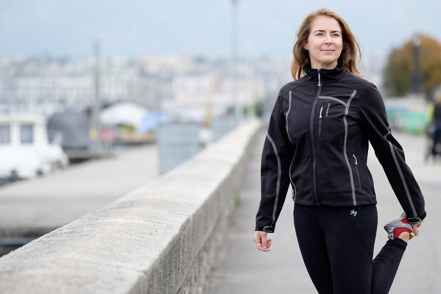 Ms McFarlane will run barefoot on the sand for 16km to represent her 16-year ordeal. Her project, Footsteps To Inspire, is entirely self-financed through raising funds, and one-third of what she raises in each country will go to local organisations t