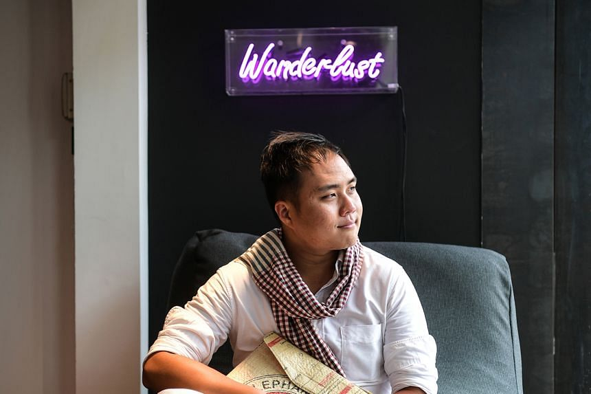 """Mr Mok, founder and chief executive of Backstreet Academy, says that the venture not only helps to increase incomes, but """"it also helps these artisans preserve their craft and pass on their skills""""."""