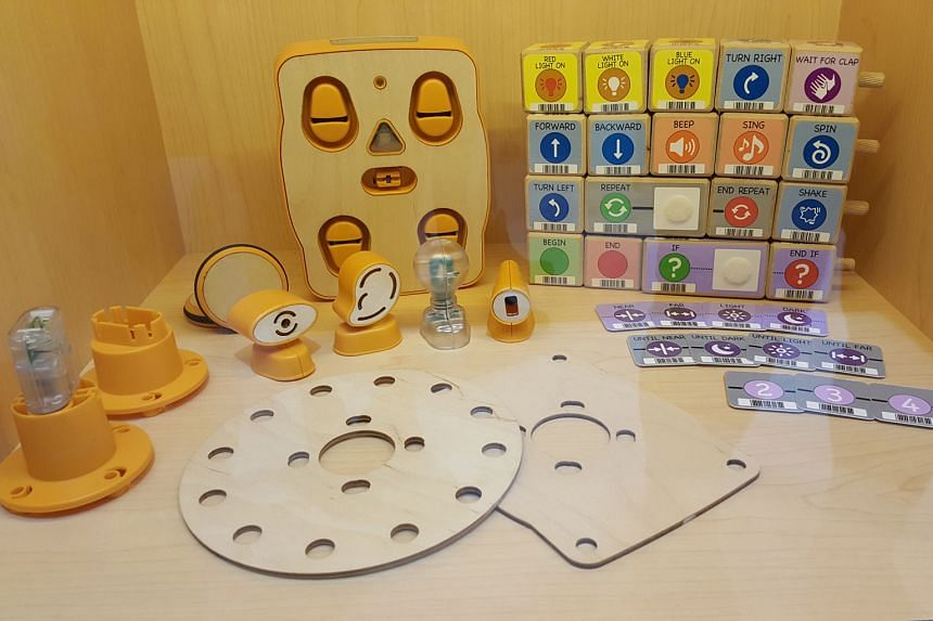 Children can learn sequencing and other key concepts as they tinker with Kibo kits. Bee-Bots (below) can also be used for a host of games while stimulating creativity and teaching important skill sets.