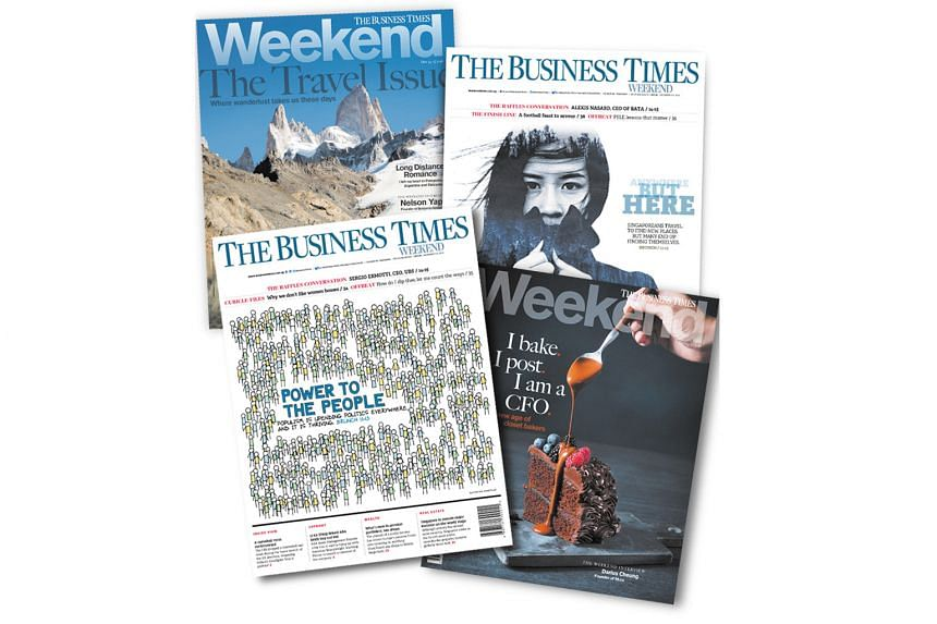 Singapore Press Holdings' financial daily won an Award for Excellence for redesign, after creating a new look and format for its weekend edition last October.