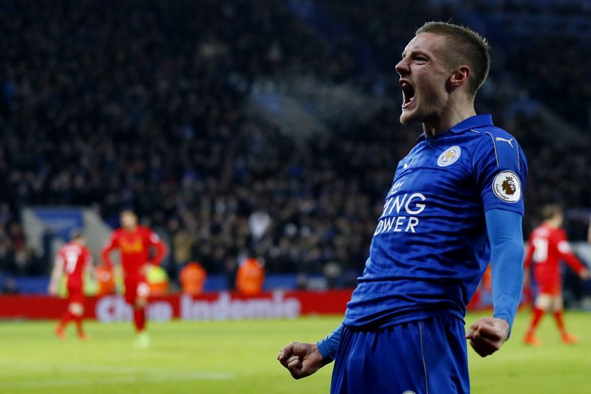 Leicester will look to Jamie Vardy for goals today against Sevilla. The striker has found his scoring boots with a brace against Liverpool last month.