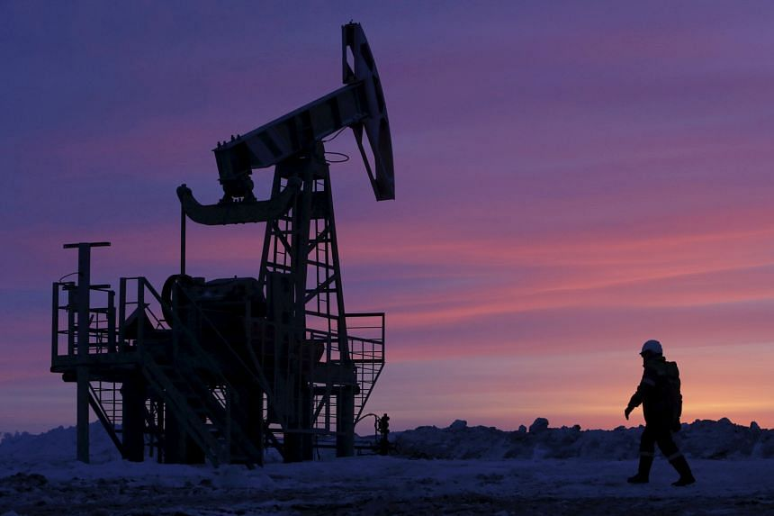 Traders said oil prices were pressured by rising US drilling activity. US drillers added 14 oil rigs in the week to last Friday, bringing the total up to 631, the most since September 2015.