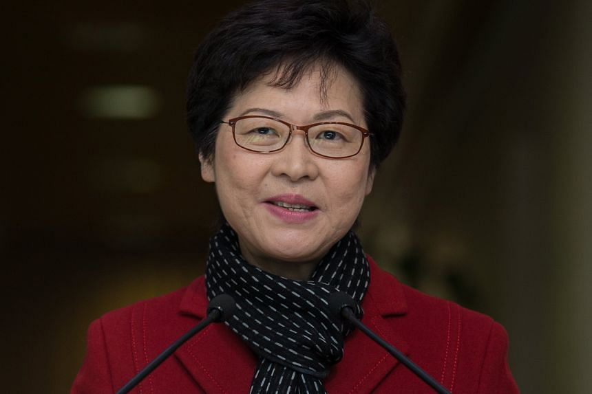 """Incoming chief executive Carrie Lam (above) said she will launch the """"Starter Homes"""" scheme as promised in her election manifesto. These homes will be priced above those under the current home ownership scheme, but will come under the private market."""
