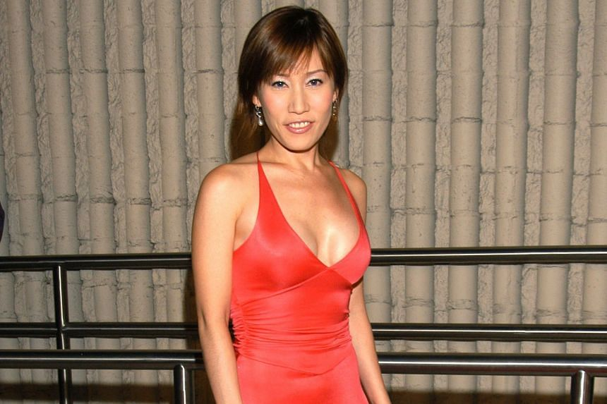 Ms Ho Yeow Sun raised a few eyebrows when she appeared in a revealing Armani gown at the Hollywood Film Festival in 2003.