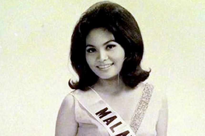 Ms Pauline Chai was crowned Miss Malaysia in 1969.
