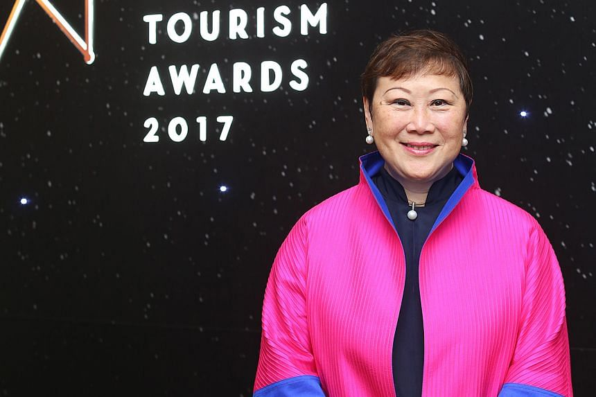 Industry veteran Janet Tan-Collis was yesterday recognised with a lifetime achievement accolade at the Singapore Tourism Awards for promoting the meetings, incentives, conventions and exhibitions segment through her outreach to educational institutio