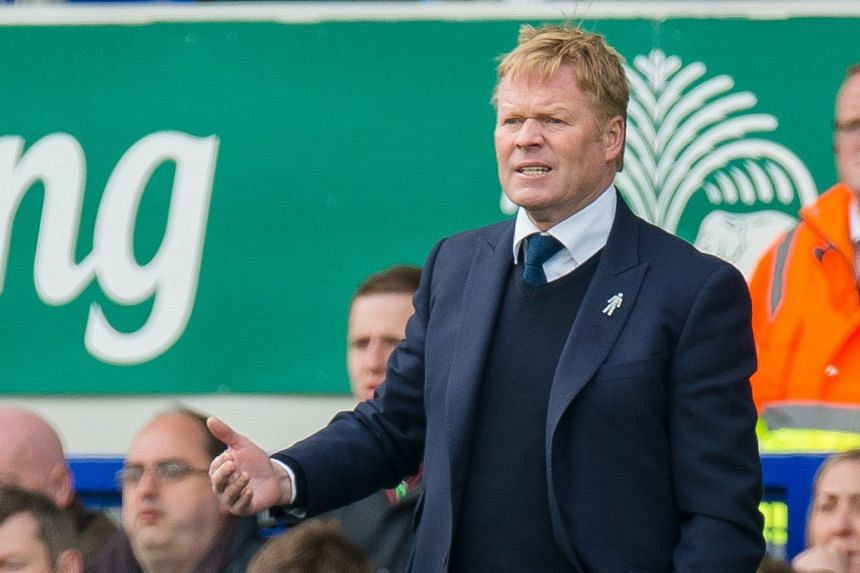 Everton manager Ronald Koeman wants to take the Toffees to the Champions League next season but says he still has two unfulfilled ambitions - to coach Holland and to coach Barcelona.