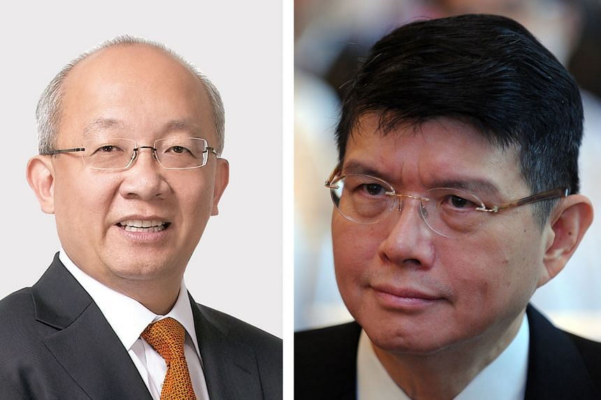 The dispute between Perennial Real Estate's Mr Pua Seck Guan (left) and Mr Kwee Liong Seen of Chesham Properties arose from conflicts over the signing of agreements. The Patina, a six-star hotel that is part of the project, got its temporary occupati