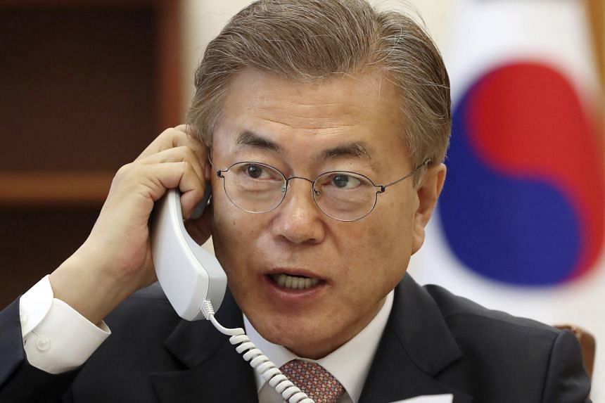 New South Korean President Moon Jae In faces the challenging task of dealing with North Korea's nuclear threat.