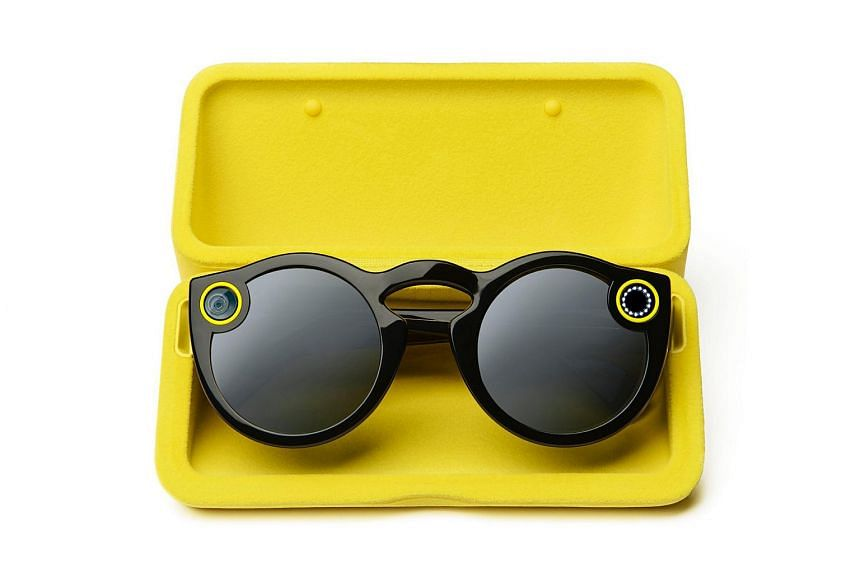 The Spectacles, By Snap Inc, is a pair of sunglasses equipped with a camera that shoots video clips lasting up to 30sec.