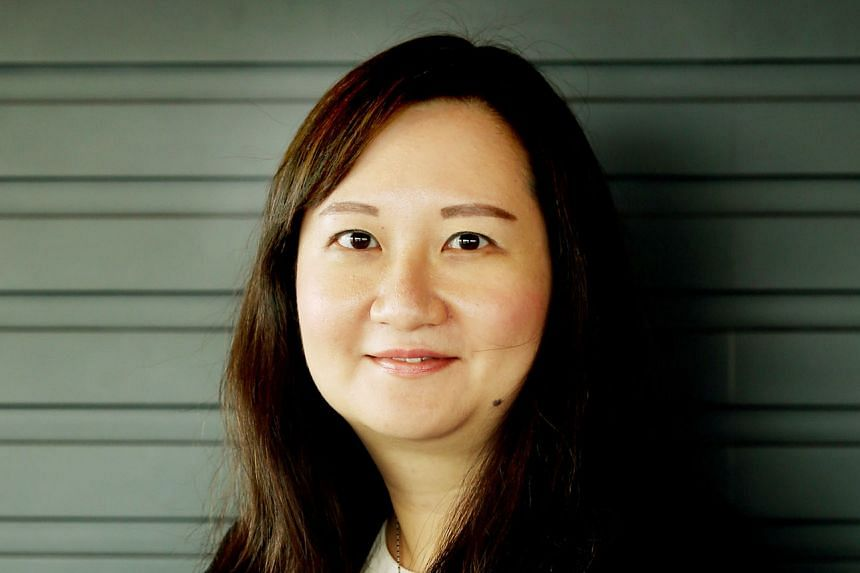MS FONG PIN FEN (above) , EDB director for cities, infrastructure and industrial solutions.