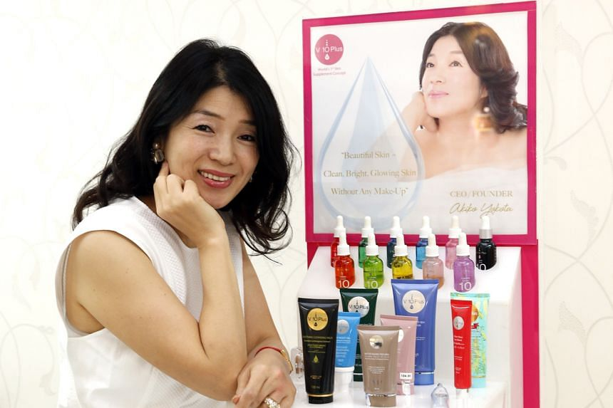 Entrepreneur Akiko Yokota and her husband invested $750,000 in savings into starting the V10 Plus skin care line, confident that it would do well globally. It was launched in March 2005. The brand now has a presence in 25 countries, where its product
