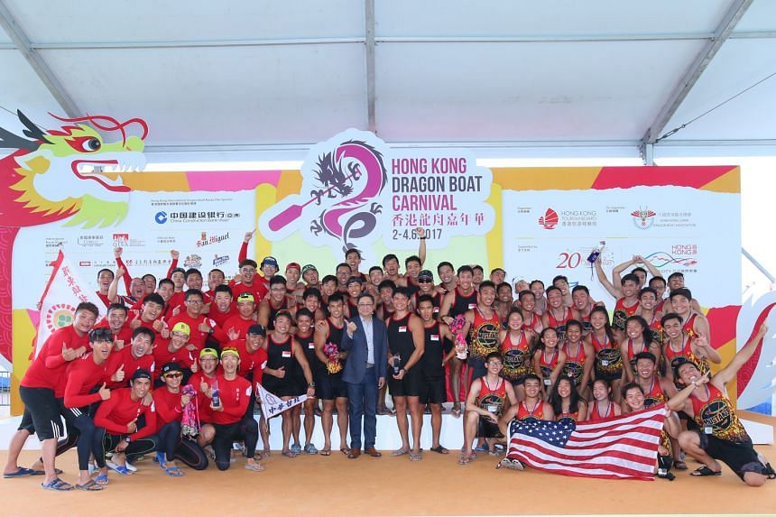 The Singapore team beat Chinese Taipei and the United States to become International Open standard boat champions. In addition, they won seven other gold medals and one silver.