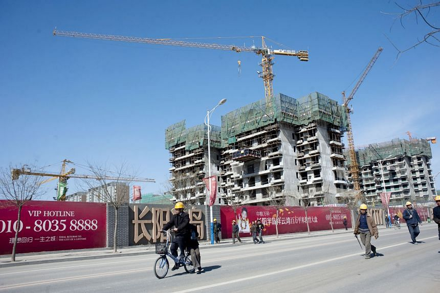 A development by China Vanke under construction. The residential developer, one of the largest in China, has been expanding its presence in warehouse properties since forming a logistics venture with Blackstone in June 2015. Last year, Vanke bought 1
