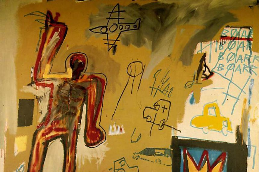 Actor Leonardo DiCaprio was gifted Jean-Michel Basquiat's Redman One collage (right, top) and Pablo Picasso's Nature Morte au Crane de Taureau by businessman Low Taek Jho, according to the US Department of Justice's filing. The actor's spokesman said