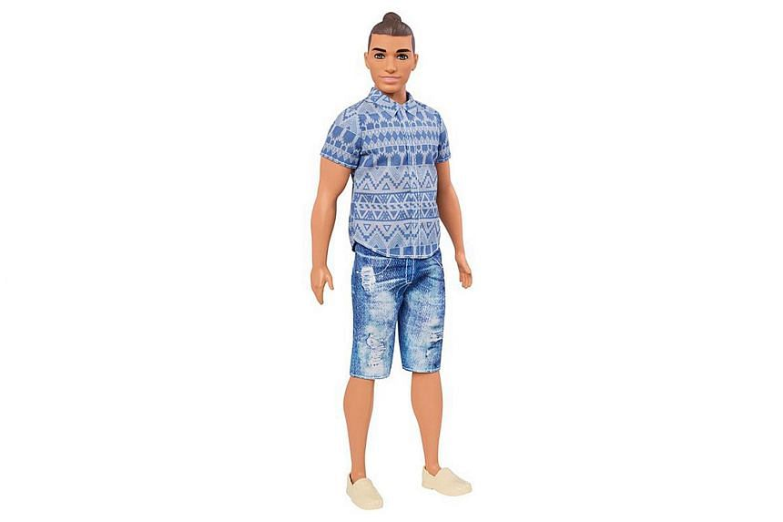 Doll manufacturer Mattel has given Ken a makeover with 15 new looks.