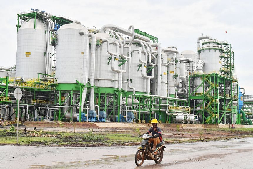 """APP says the OKI mill's maximum output capacity currently is 2.8 million tonnes of pulp a year, and that it currently has no intention to expand output """"beyond what the licence allows for""""."""