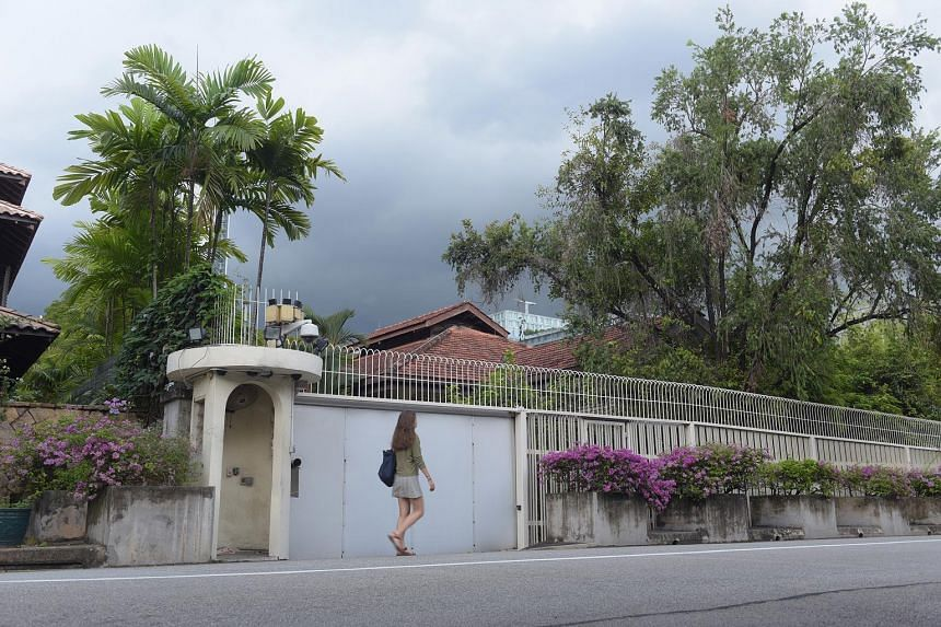 "The late Mr Lee Kuan Yew's house at 38, Oxley Road. Asked on whether Attorney-General Lucien Wong was advising the ministerial committee on Mr Lee's house, Ms Indranee Rajah said: ""The answer is no, for the very simple reason that in AGC, there are o"